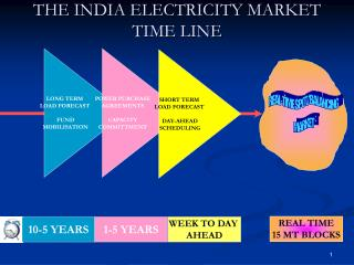 THE INDIA ELECTRICITY MARKET TIME LINE