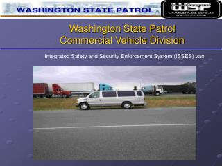 Washington State Patrol Commercial Vehicle Division