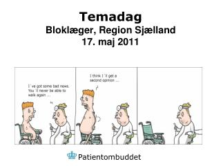 Temadag Bloklæger, Region Sjælland 17. maj 2011