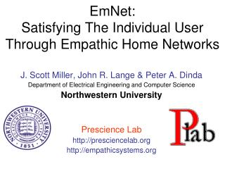 EmNet:  Satisfying The Individual User Through Empathic Home Networks