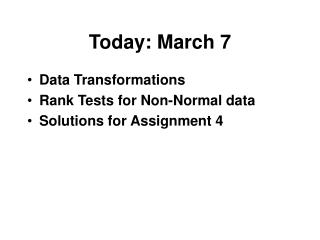 Today: March 7