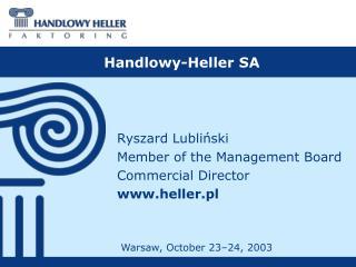Handlowy-Heller SA