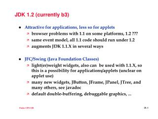 JDK 1.2 (currently b3)