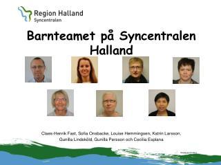 Barnteamet på Syncentralen Halland