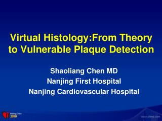 Virtual Histology:From Theory to Vulnerable Plaque Detection