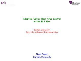 Nigel Dipper Durham University