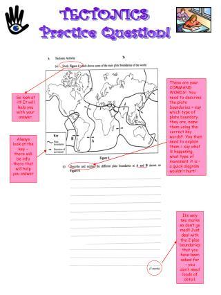 TECTONICS Practice Question!