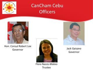 CanCham  Cebu Officers