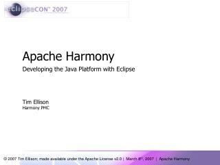 Apache Harmony
