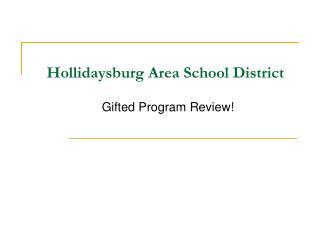 Hollidaysburg Area School District