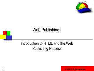 Web Publishing I