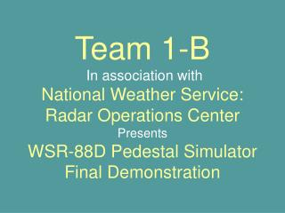 Team 1-B