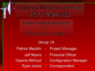 National Weather Service ROC WSR-88D
