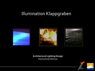 Illumination Klappgraben