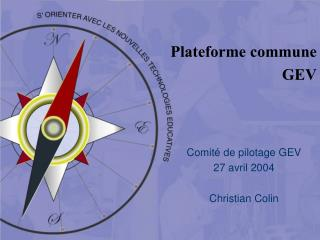Plateforme commune GEV