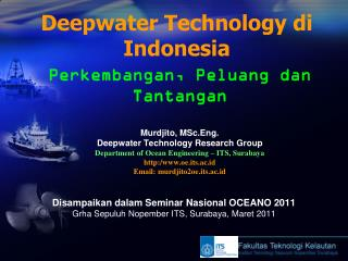 Deepwater Technology di Indonesia