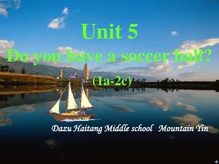 Dazu Haitang Middle school   Mountain Yin