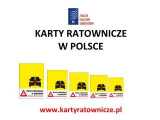 KARTY RATOWNICZE W POLSCE kartyratownicze.pl