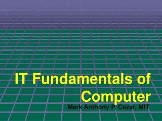 IT Fundamentals of Computer
