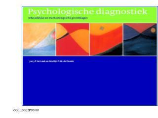 Deel I: historische, wetenschapstheoretische achtergrond; state of the art; 16-9-2005