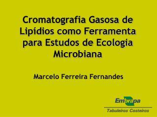 Cromatografia Gasosa de Lipídios como Ferramenta para Estudos de Ecologia Microbiana