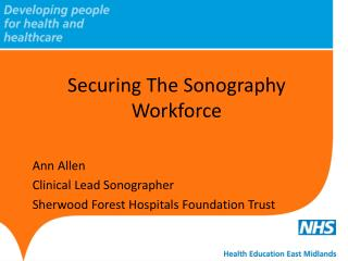 Securing The Sonography Workforce