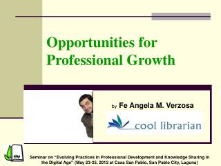 Opportunities for Professional Growth