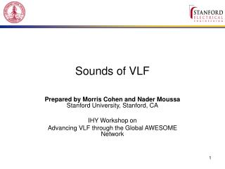 Sounds of VLF