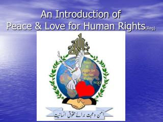 An Introduction of Peace & Love for Human Rights (Reg)