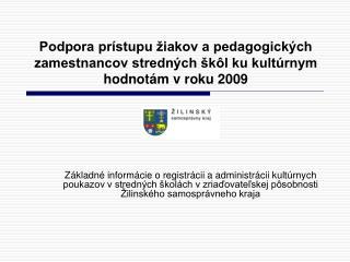 """Grantový program """"Kultúrne poukazy 2009"""""""