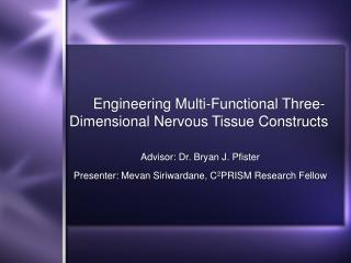 Engineering Multi-Functional Three-Dimensional Nervous Tissue Constructs