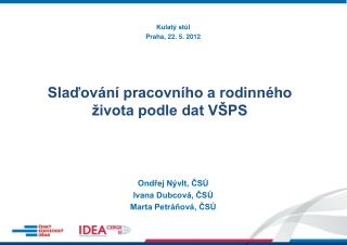 Kulatý stůl Praha, 22. 5. 2012