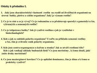 Otázky k přednášce 1.