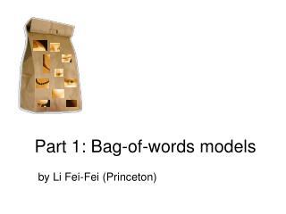 Part 1: Bag-of-words models