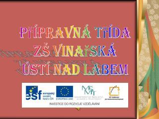 Přípravná třída ZŠ Vinařská Ústí nad Labem