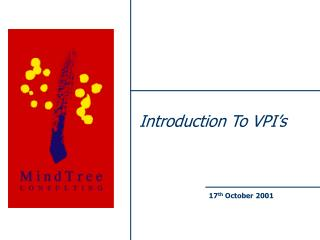 Introduction To VPI's