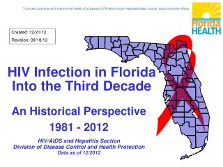 HIV Infection in Florida Into the Third Decade