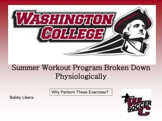 Summer Workout Program Broken Down Physiologically