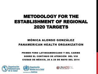 Metodology for the  establishment  of regional  2020 targets