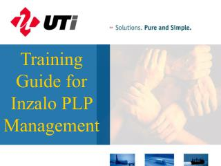Training Guide for Inzalo PLP Management