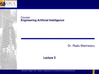 Course: Engineering Artificial Intelligence