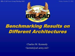 Benchmarking Results on Different Architectures