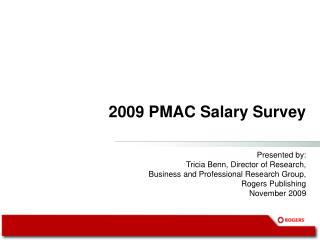 2009 PMAC Salary Survey