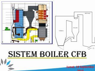 SISTEM BOILER CFB