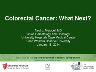 Colorectal Cancer: What Next?