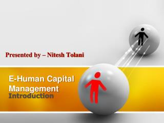 E-Human Capital Management