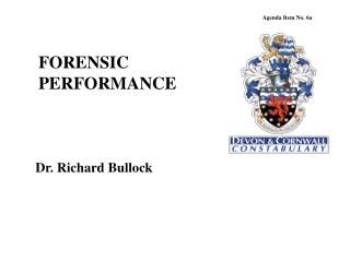 FORENSIC PERFORMANCE