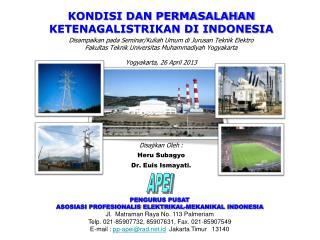 PENGURUS PUSAT ASOSIASI PROFESIONALIS ELEKTRIKAL-MEKANIKAL INDONESIA