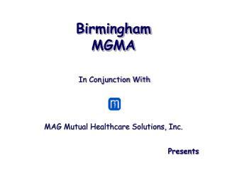 Birmingham MGMA