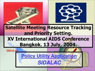 Policy Utility Application SIDALAC